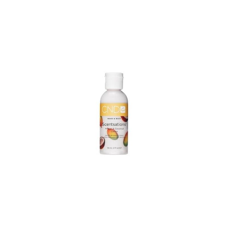 Loción Hidratante Scentsations Coco y Mango CND 59ml