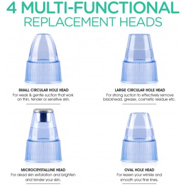 Limpiador de Poros y Puntos Negros Eléctrico 5 Velocidades