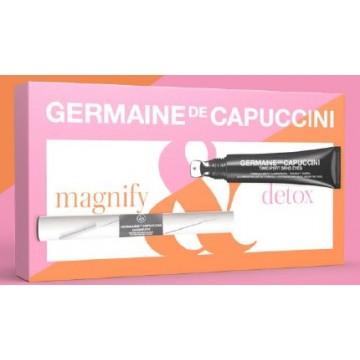 Pack Mirada Contorno Detox + Magnify Serum Pestañas y Cejas Germaine de Capuccini