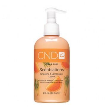 Loción Hidratante Scentsations Mandarina y Lemongrass 245 ml CND