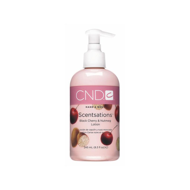 Loción Hidratante Scentsations Cereza y Nuez 245 ml CND