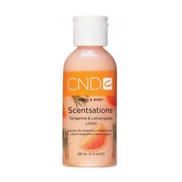 Loción Hidratante Scentsations Mandarina y Lemongrass CND 59ml