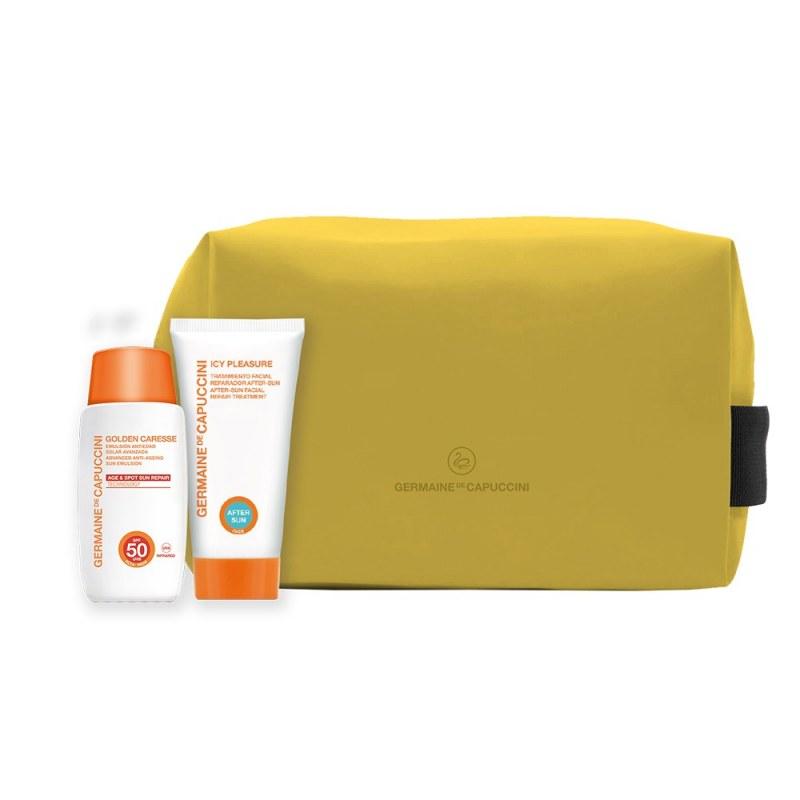 Pack Protector Solar Emulsión SPF30 + Regalo Aftersun y Neceser Germaine de Capuccini