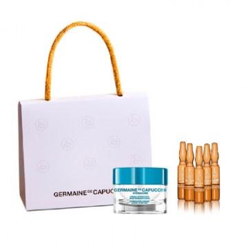 Pack Crema Hydracure Piel Normal Seca + 5 Flash Lift Serum Germaine de Capuccini
