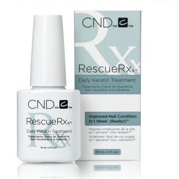 Tratamiento Uñas Dañadas con Queratina Rescue RXx CND 15ml